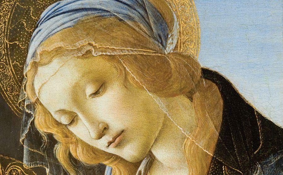 Sandro-Botticelli-Alessandro-Filipepi-Madonna-col-Bambino-Madonna-col-Bambino-Chiamata-Anche-Madonna-del-Libro1